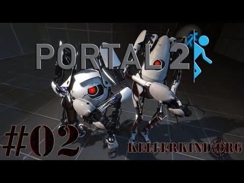 Portal 2 Co-Op [HD] #002 – Huiiiii, Huiiiii… ★ Let's Play Portal 2