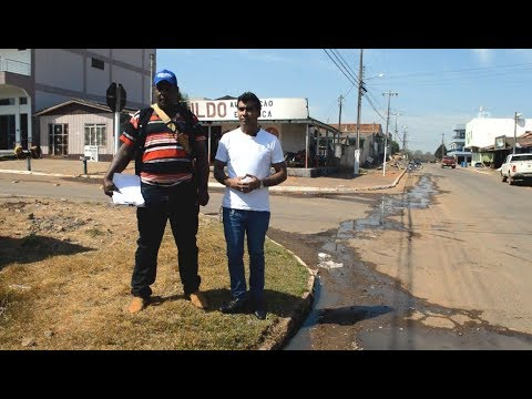 Secretario fala sobre águas servida nas ruas