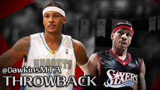 Allen Iverson vs Carmelo Anthony Full Duel 2005.12.27 - 81 Pts Combined, CLUTCH AI!