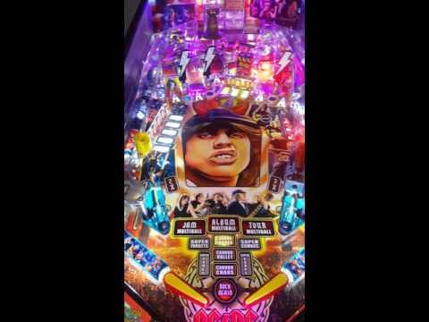 My AC/DC (pro) pinball machine  - смотреть онлайн на Hah Life