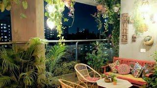Apartment Balcony Decorating Ideas. Small Balcony Garden. Beautiful Balcony Decorative Ideas