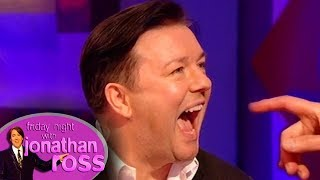 Ricky Gervais Tried to Bite The Dentist | Full Interview | Friday Night With Jonathan Ross