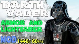 Skyrim Special Edition - Darth Vader +lightsabers mod (PC&Xb1)