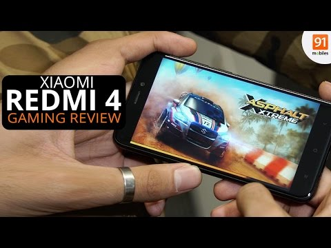 Xiaomi Redmi 4: Gaming review
