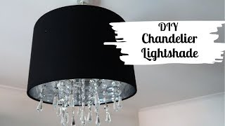 DIY Chandelier Lightshade - Home Makeover
