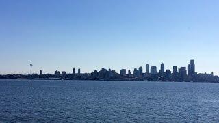 Alki Beach in Seattle, Washington - Drone Flight