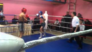 Кик-бокс нокаут 1 раунд