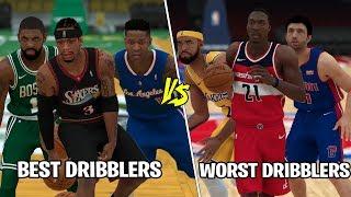 Best Dribblers Of All Time vs Worst Dribblers! | NBA 2K19 |