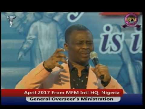 Dr  D  K  Olukoya   The Mystery of the God of Elijah April 2017   Manna Water 1