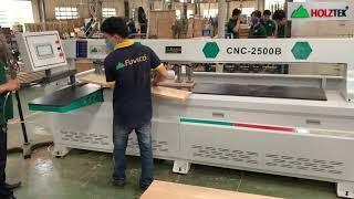 MÁY KHOAN NGANG CNC-2500B KHOAN GỖ SỒI, MŨI KHOAN 12mm