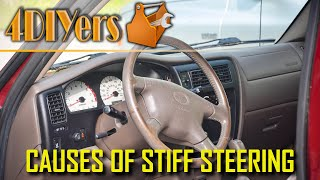 What can Cause Stiff or Heavy Steering - Top 6 Issues