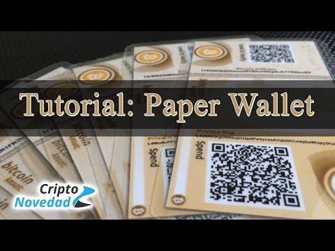Cum se depună bitcoin din portofelul de hârtie