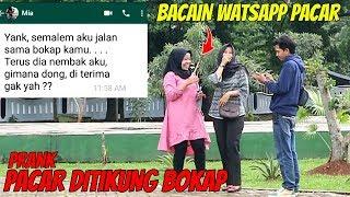 PACAR DITIKUNG BOKAP SENDIRI   Prank Indonesia