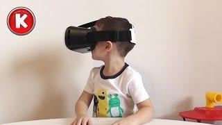 ✌ Американские горки в виртуальной реальности :) | Virtual Reality Roller Coaster