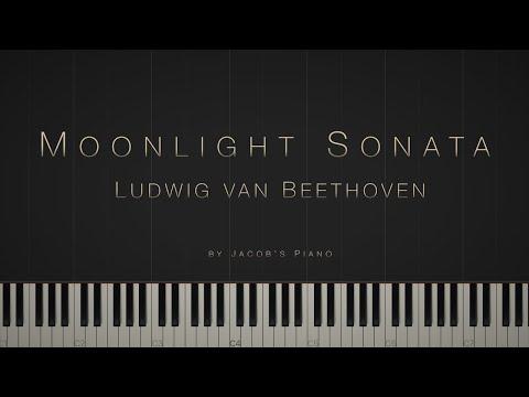 Moonlight Sonata: 1st mvt  - Ludwig van Beethoven