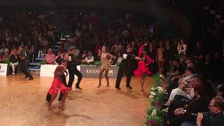 WDSF Grand Slam Latin 2018 - Razvan Dumitrescu & Jacqueline Joos Samba