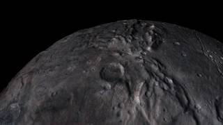 Animated Flyover of Pluto's Moon Charon | Video