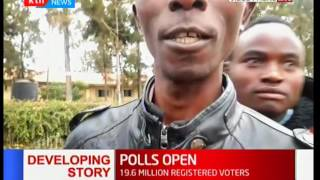 Machakos residents enthusiastic as polls open
