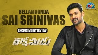 Bellamkonda Sreenivas Exclusive Interview | Rakshasudu Movie | NTV Entertainment