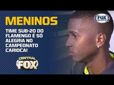 Time Sub-20 do Flamengo é só alegria no Campeonato Carioca!