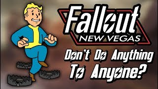 How Does Fallout New Vegas End If You Don't Do Anything To Anyone?