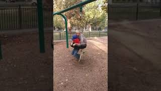 life is just a tire swing