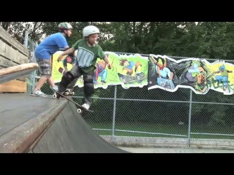 Evan Doherty 6 year old EXTREME skateboarder New skate movie
