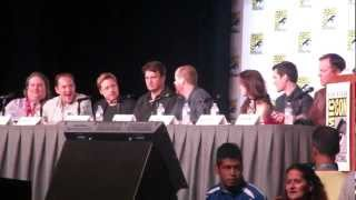 SDCC 2012: Firefly (Joss & Nathan) 10th Years Panel #1