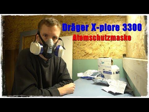 [Unboxing] Dräger X-plore 3300 Halbmasken - Atemschutz Maske I Schakka505