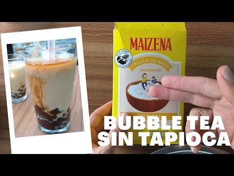 Té de Burbujas | Bubble Tea - Receta casera Sin Tapioca