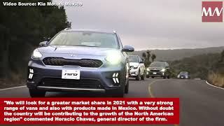KIA Motors seeks to increase sales by 9% in 2021