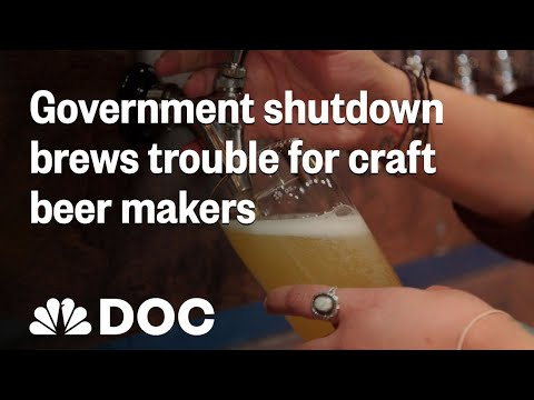 Government Shutdown Brews Trouble For Craft Beer Makers   NBC News