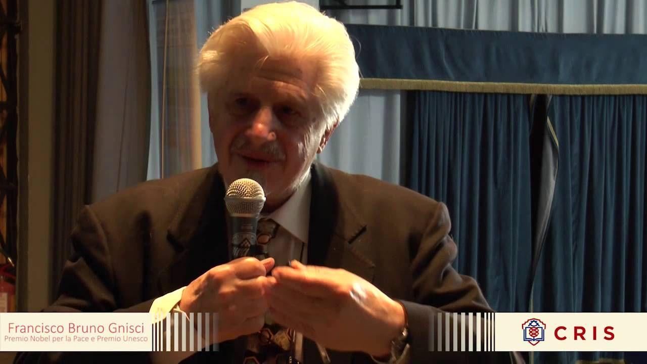 Io non ho Paura/Intervista a Francisco Bruno Gnisci/Premio Nobel per la Pace e Premio Unesco