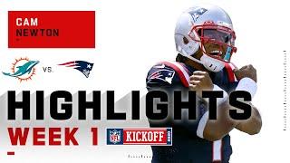 Cam Newton Patriots Debut | NFL 2020 Highlights