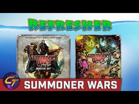 Summoner Wars - Refresher on How to Play // Cosmic Tavern
