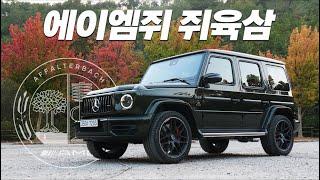 [모터그래프] SUV들의 왕, 메르세데스-AMG G63 시승기...우리가 G바겐을 사랑하는 이유
