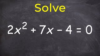 Solvingaquadraticbycompletingthesquare