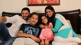 Arvind Swamy Wife  Family Pictures