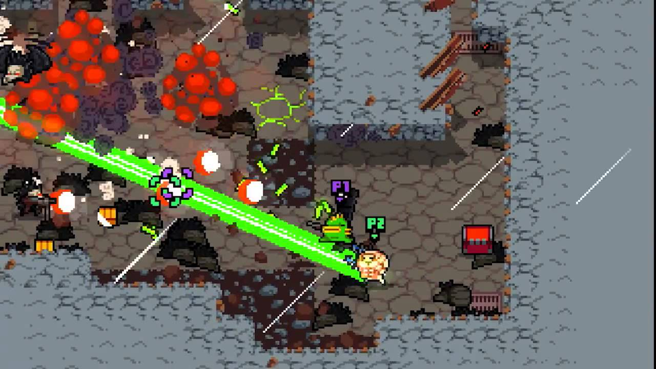 Der zufällige Spaß von Nuclear Throne auf PS4, PS3, PS Vita