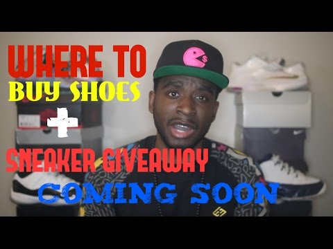 Where I Buy Shoes + Sneaker GiveAway!