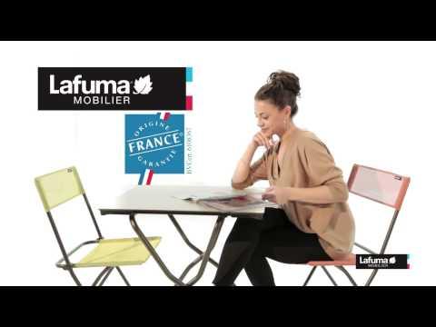 ☀ LAFUMA ANYTIME - Balkonstuhl Batyline®, Klappstuhl, Campingmöbel, Campingstühle