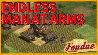 How many games can I win with only Man At Arms? AoE2:DE | Strat Fondue
