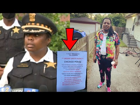 Chicago Police Warns FBG Duck Homies & Residents To Stay In The House!?