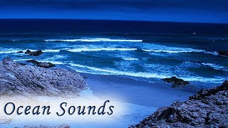 Sleep with Ocean Sounds at Night - NO MUSIC - Relaxing Rolling Waves for Sleeping