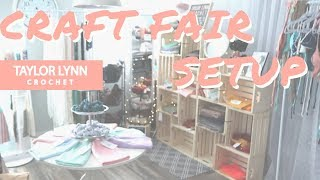 Craft Fair Market Setup 16x8 Space