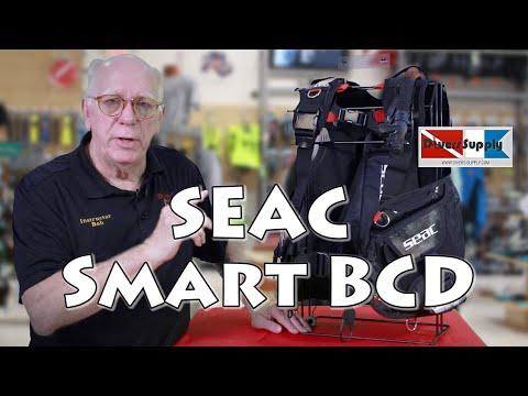 Seac SMART Jacket Style BCD *** Excellent Beginner BCD