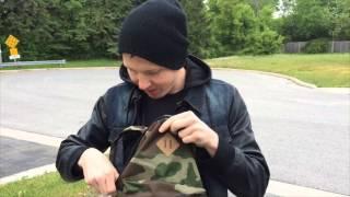 Manafest Custom Camo Bag