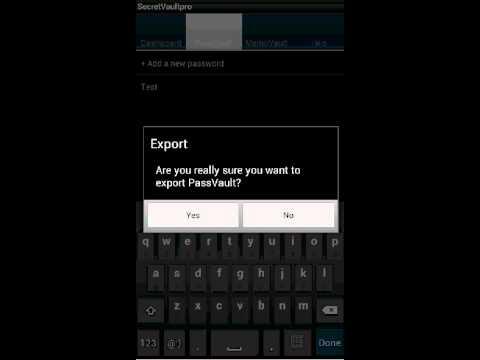 Video of SecretVaultpro(free)