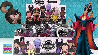 Disney Villains Blind Bag Figural Keyrings Full Set Unboxing Opening   PSToyReviews