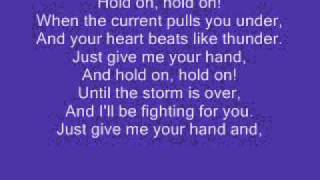 Hold on 33 miles lyrics